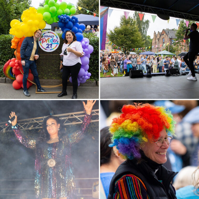 So proud to support Didsbury Pride 2021